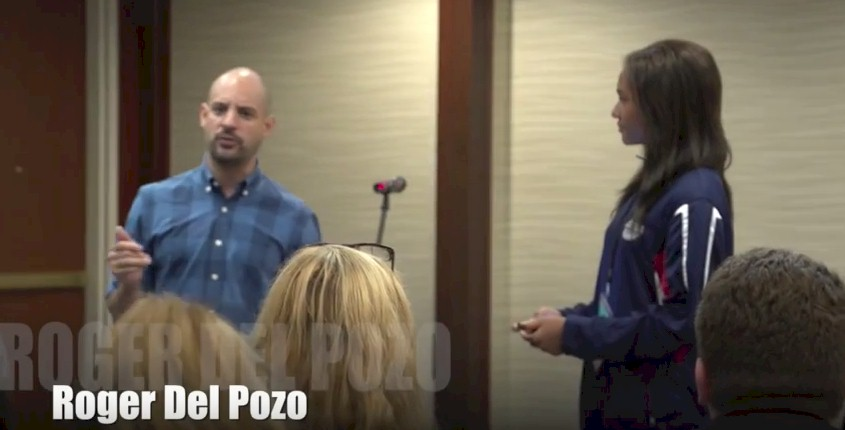 Acting with Roger Del Pozo